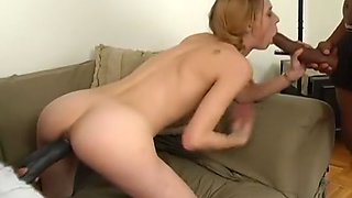 Pale Blonde Finds A Better Job In Porn