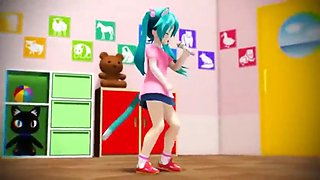 Loli miku in action