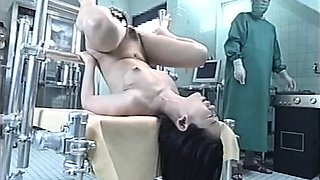 Hot MILF Spread Wide Open As Her Doctor Gives Her An Enema