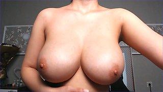 Korean big boobs pov
