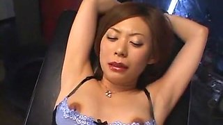 Incredible Japanese chick Saki Anz in Hottest Stockings/Pansuto, Dildos/Toys JAV scene