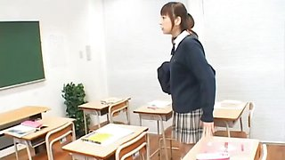 Runna Sakai is a sexy teen schoolgirl who loves to have
