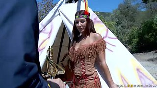 Indian Chief and General Set a Peace Treaty With a Swinger Foursome