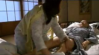 Japanese Mom blackmailed by Step Son 5