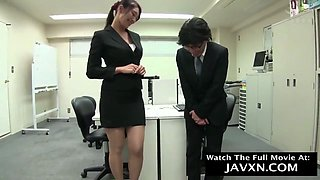 Japanese Office Slut - Everyone Gets A Turn