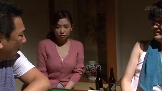 Japanese wife bet on a Mahjong game