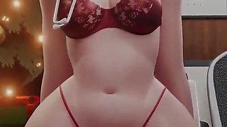 Beautiful in 3d animation (Hermosa en animacion 3d)
