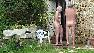 Best Homemade movie with Nudism, Grannies scenes