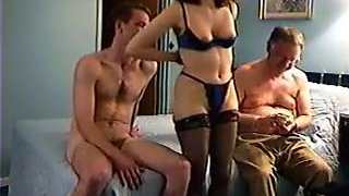 Cuck filming wife with much younger schlong