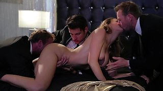 Gang bang video of naughty Chanel Preston with first-class body