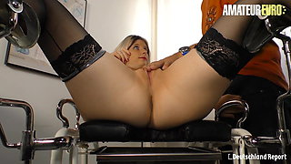 AmateurEuro - Young Doctor Try His Luck & Fucks The Patient