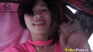 Filipina Porn with cute shaved teenager in hotel