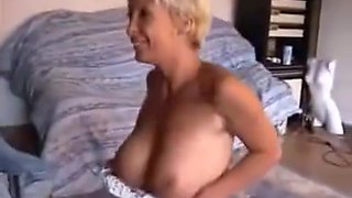 Drunk Mature With Fake Tits Fuck after Party