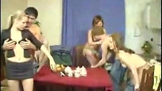 Russian Swingers Young Couples