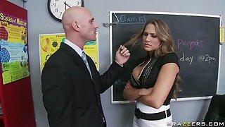 Mean Teacher Fuck Her Former Student