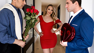 AJ Applegate & Keiran Lee in Earning My Valentine - BRAZZERS