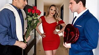 AJ Applegate & Keiran Lee in Earning My Valentine - BRAZZERS