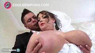 Busty bride and big cock