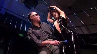 Incredible Japanese model in Exotic Latex, Fetish JAV video