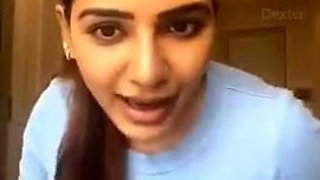 Indian beauty Samantha does dirtytalk