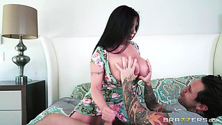 hot milf has giant boobs and a wet pussy