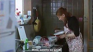 Reiko Yamaguchi & Lemon Hanazawa - Explicit Sex in The Japanese Wife Next Door (2004)