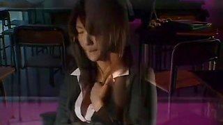 Amazing Japanese whore Nagisa Okamoto in Fabulous Blowjob/Fera, Gangbang JAV movie