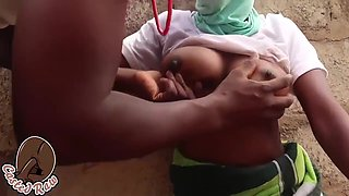 Horny, African Guy Is Fucking His Neighbors Insatiable