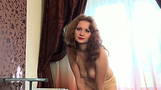 Mature Mandy Gives you a Sensual Strip Tease