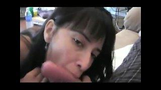 Mexican Latina Milf Sucks White Cock BWC