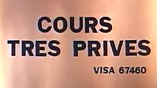 Classic French : Cours tres prives