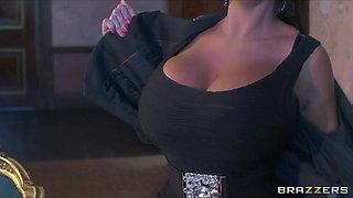 UK prime minster blackmailed into fucking big-tit Emma Butt