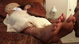 Sleepy Foot Fetish &amp Foot worship Assault 16