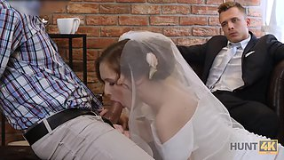 HUNT4K. Attractive Czech bride spends the first night with a wealthy stranger