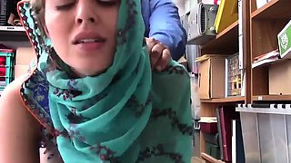 Teen caught school amateur and horny milf Hijab-Wearing