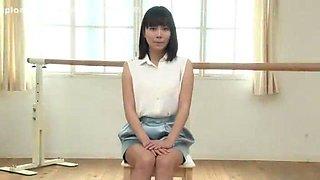 Crazy Japanese chick Yui Tsubaki in Hottest Sports, Striptease JAV clip