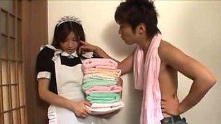 DV-991 Sei Slave Sana of the super Binkan Maid