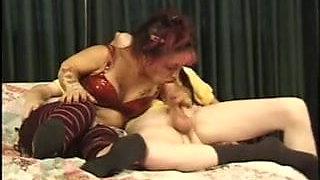 Stylish erotic midget seduction