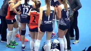Volleyball girls melike yilmaz cagla erdem arelya karasoy