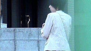 Japanese babe pee soaks