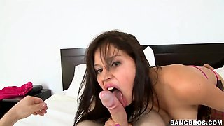18 year old Yenny Contreras gets DPed on cam