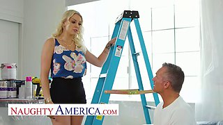 Naughty America Kenzie Taylor fucks her friend&#39s husband