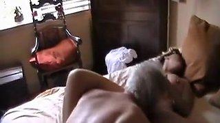 Amateur young wife fucks husbands boss
