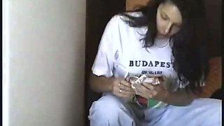 Hungarian Brunette Twin Sisters Fucked Hardcore