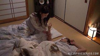 Yui Tatsumi hot Asian housewife in hardcore sex
