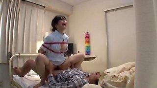 Japanese milf nurse