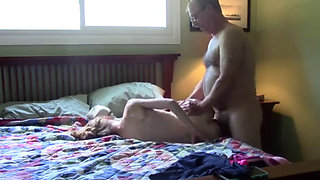 my dad gives me my ass until he cums