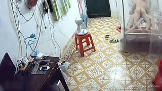 Hackers use the camera to remote monitoring of three lovers's home life collection.10