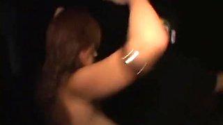 Exotic Japanese chick in Best Voyeur, Striptease JAV scene