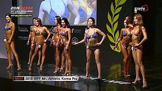 2016 WFF Miss Bikini Korea Pro